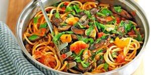 اسپاگتی گیاهی اسپایسی