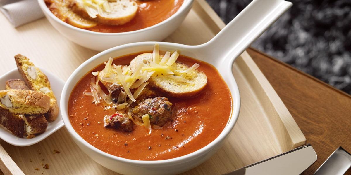 سوپ کینوا با کوفته قلقلی