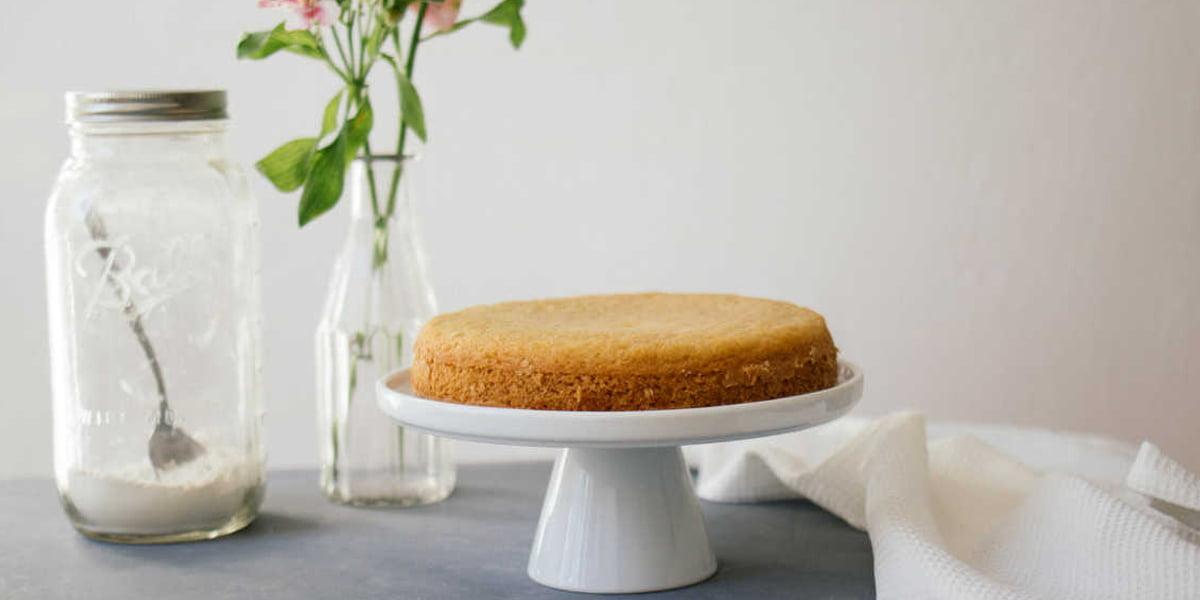 کیک اسفنجی وگان