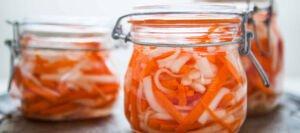 طرز تهیه ترشی ترب و هویج