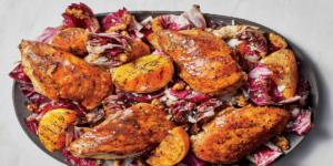 خوراک مرغ بالزامیک گریل