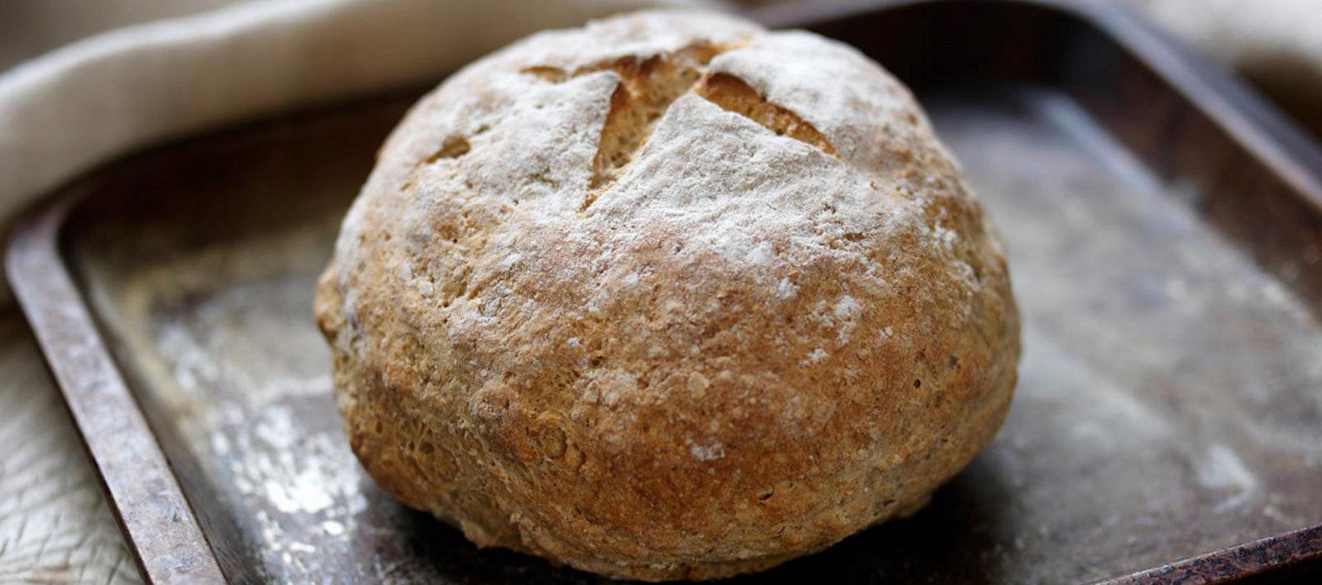 طرز تهیه نان ایرلندی
