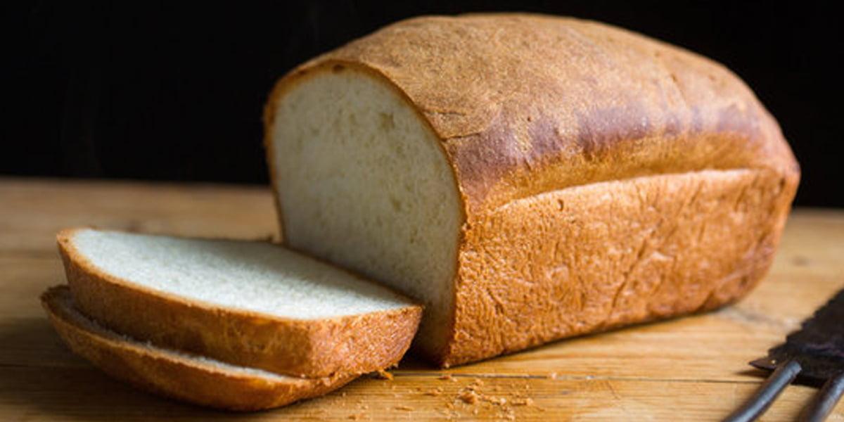 طرز تهیه نان سفید