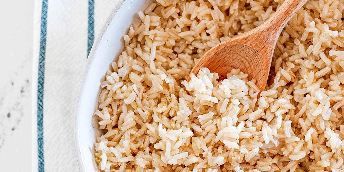 طرز تهیه برنج قهوه ای