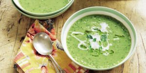 سوپ باقالی و ماست