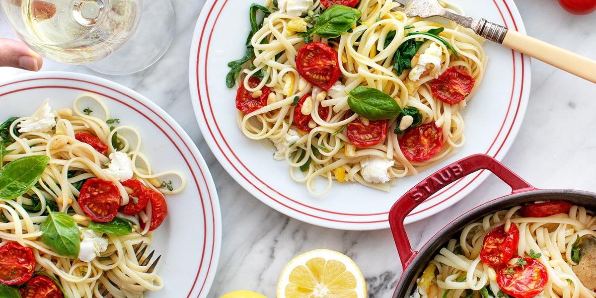 طرز تهیه اسپاگتی فوری
