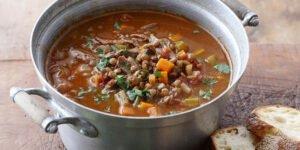 طرز تهیه سوپ ماهیچه