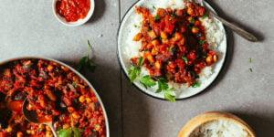 خوراک بادمجان مراکشی