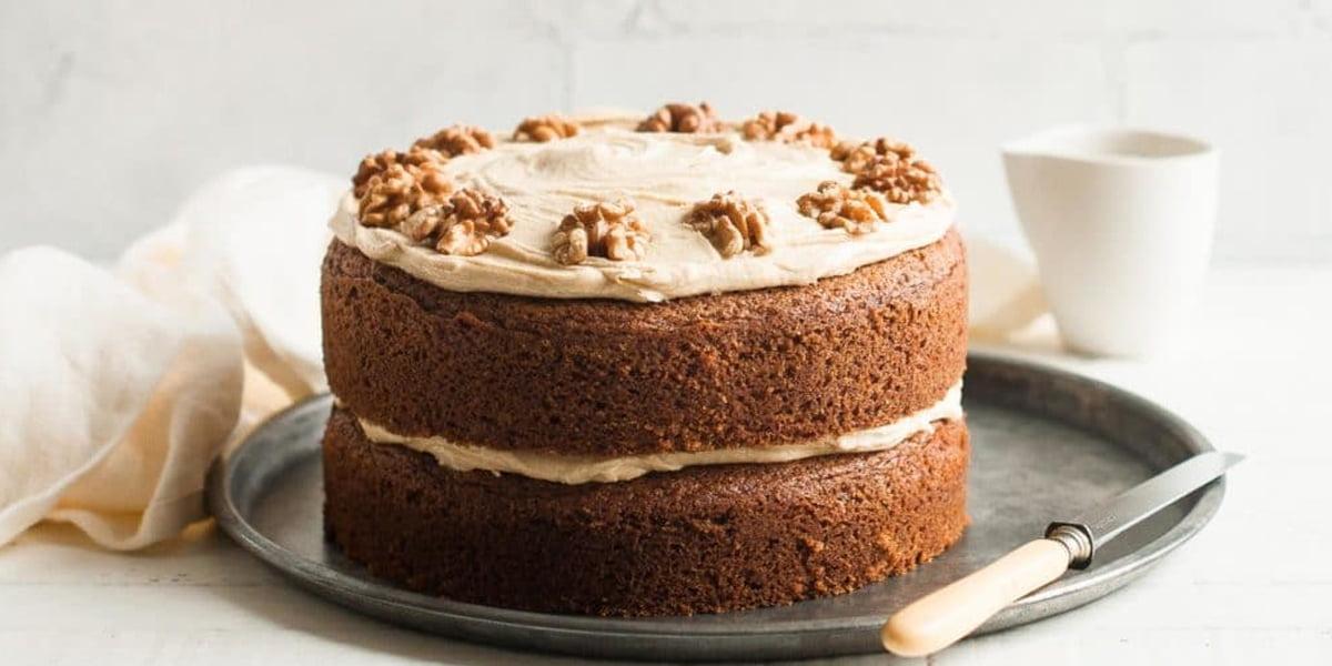 کیک قهوه و نسکافه