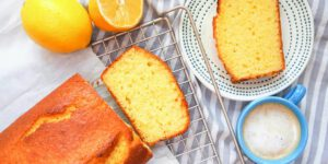 طرز تهیه کیک ماست