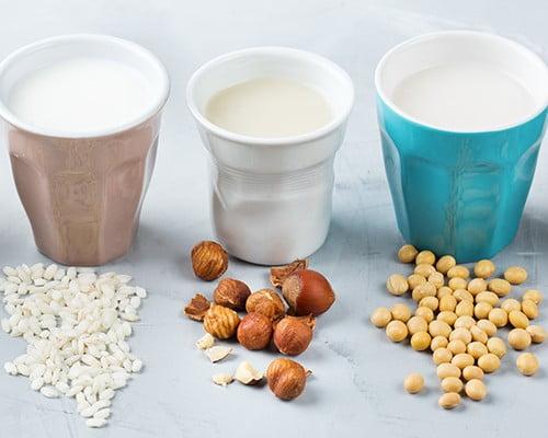 مصرف شیر گیاهی