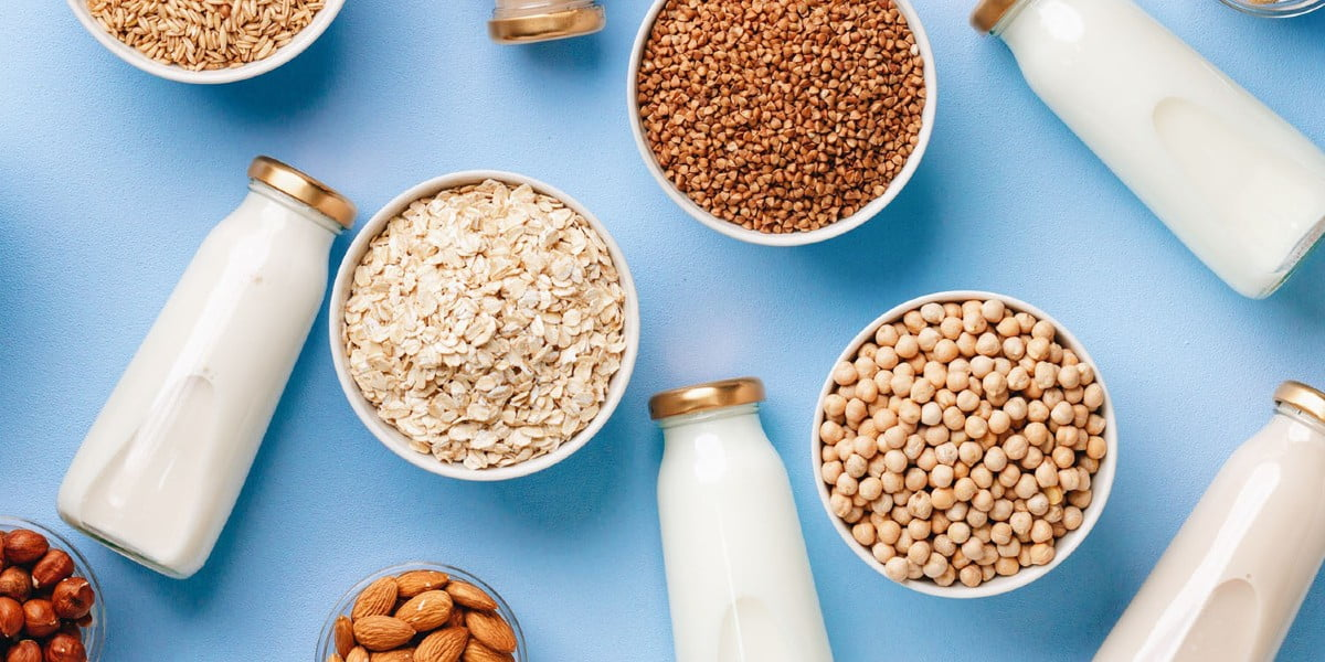 انواع شیر گیاهی