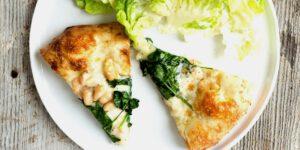 طرز تهیه پیتزا با اسفناج