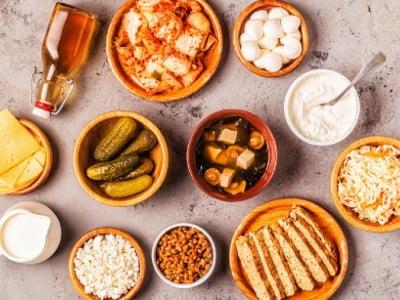 دریافت پروبیوتیک طبیعی از غذا