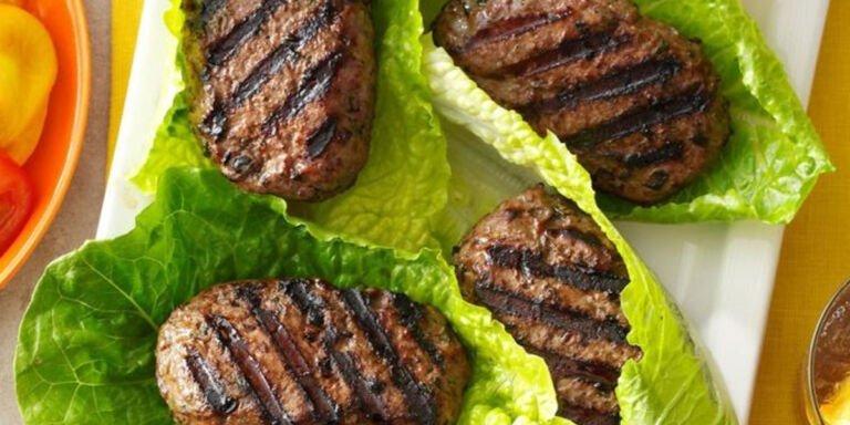 طرز تهیه همبرگر