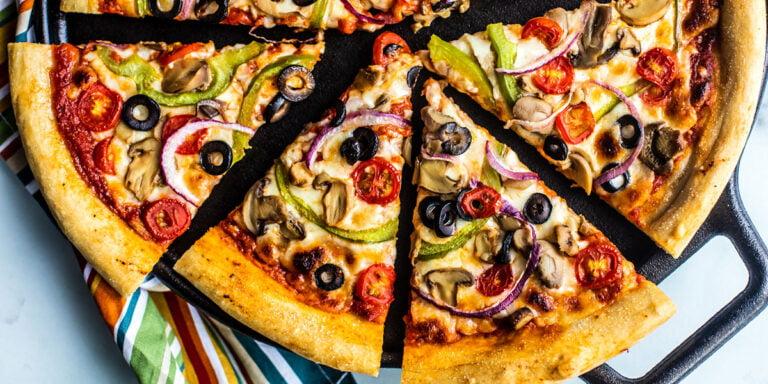 طرز تهیه پیتزا در ماکروفر