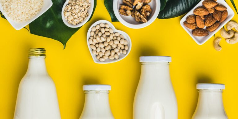 مراحل تولید شیر گیاهی