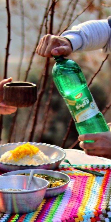 نیوشابه لیمو نعناع لاکیدو