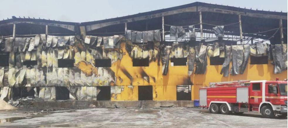 بیانیهی رسمی شرکت کاله در مورد آتشسوزی در کارخانه کاله در عراق به نقل از روابط عمومی گروه سولیکو