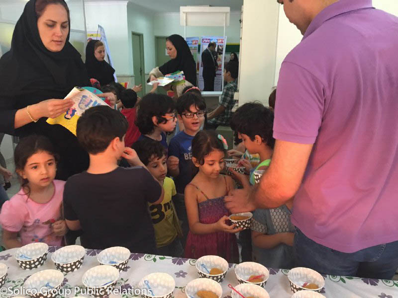 پمینا، حامی جشنواره قصه گویی کودکان