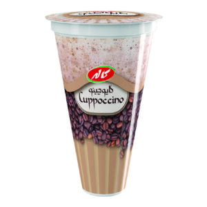 Cappuccino ice-cream